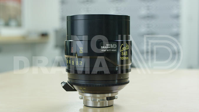 No Drama Cooke S4/i 100mm T2