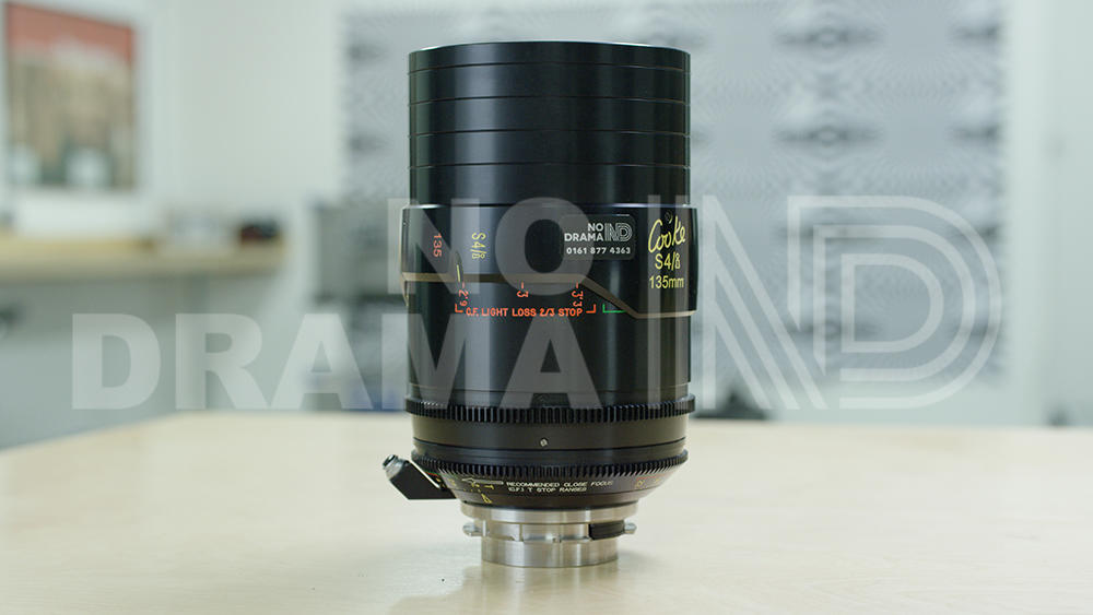 No Drama Cooke S4/i 135mm T2