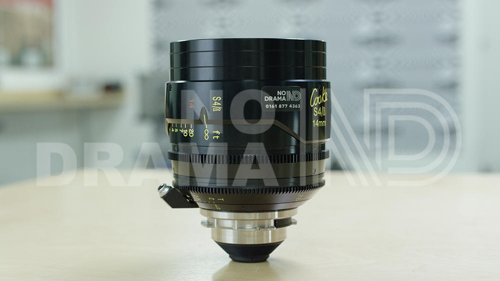 No Drama Cooke S4/i 14mm T2