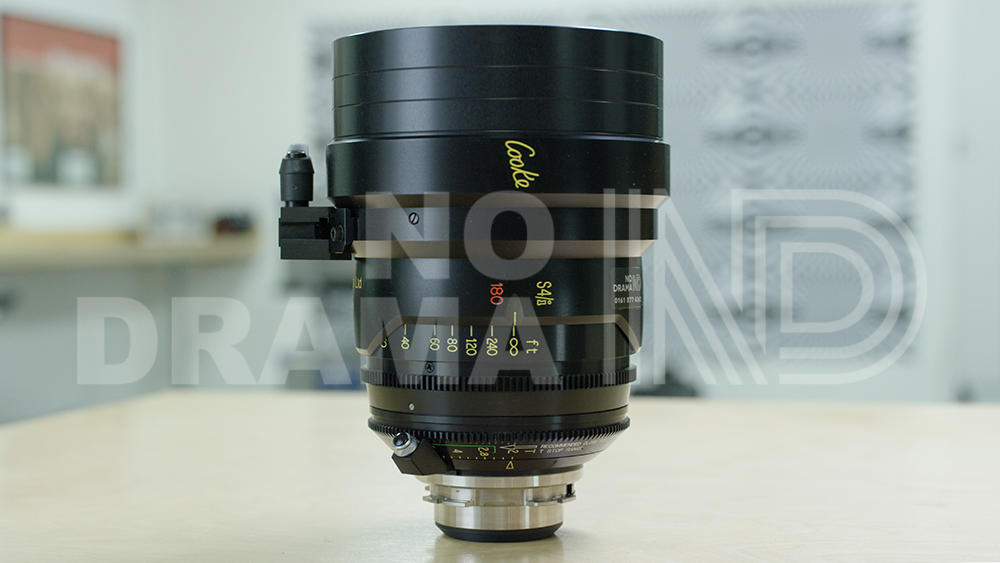 No Drama Cooke S4/i 180mm T2