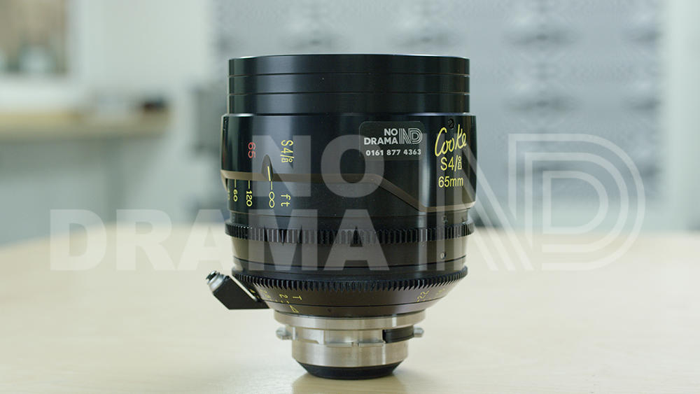 No Drama Cooke S4/i 65mm T2