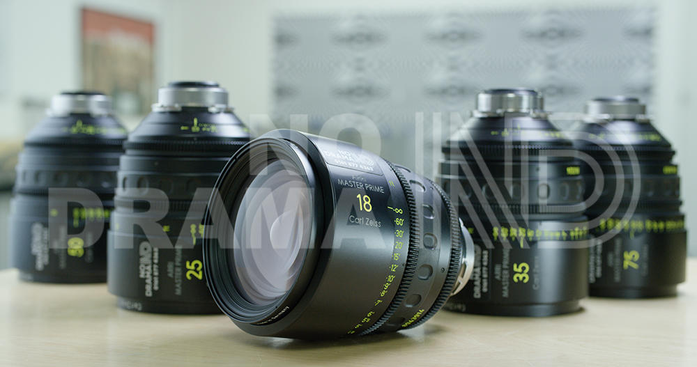 No Drama Set of 5 Arri Zeiss Master Primes