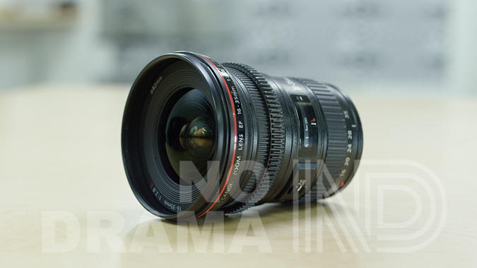 Canon 16-35 EF mount zoom lens