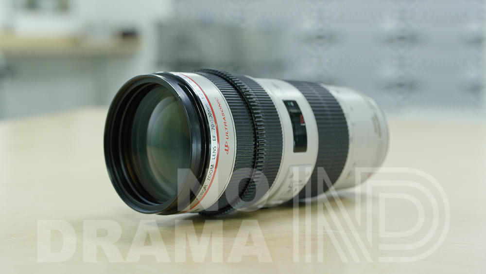 Canon EF mount 70-200mm zoom lens